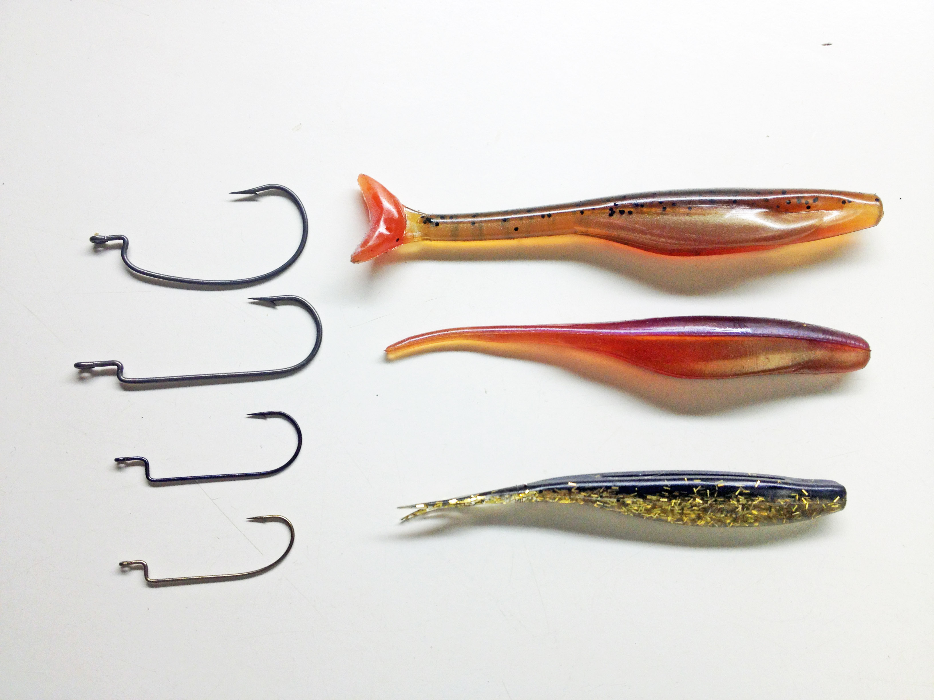 rigging weightless soft jerk baits… | bite me fishing, Hard Baits